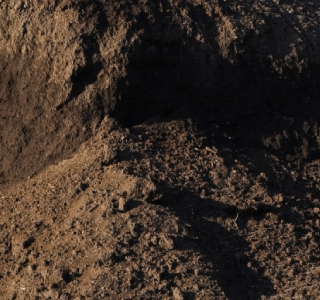Mounds of soil